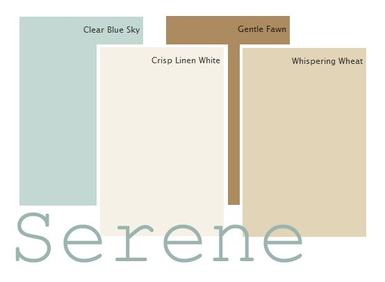 serene bathroom colors a classic serene color palette clear blue sky crisp 14380