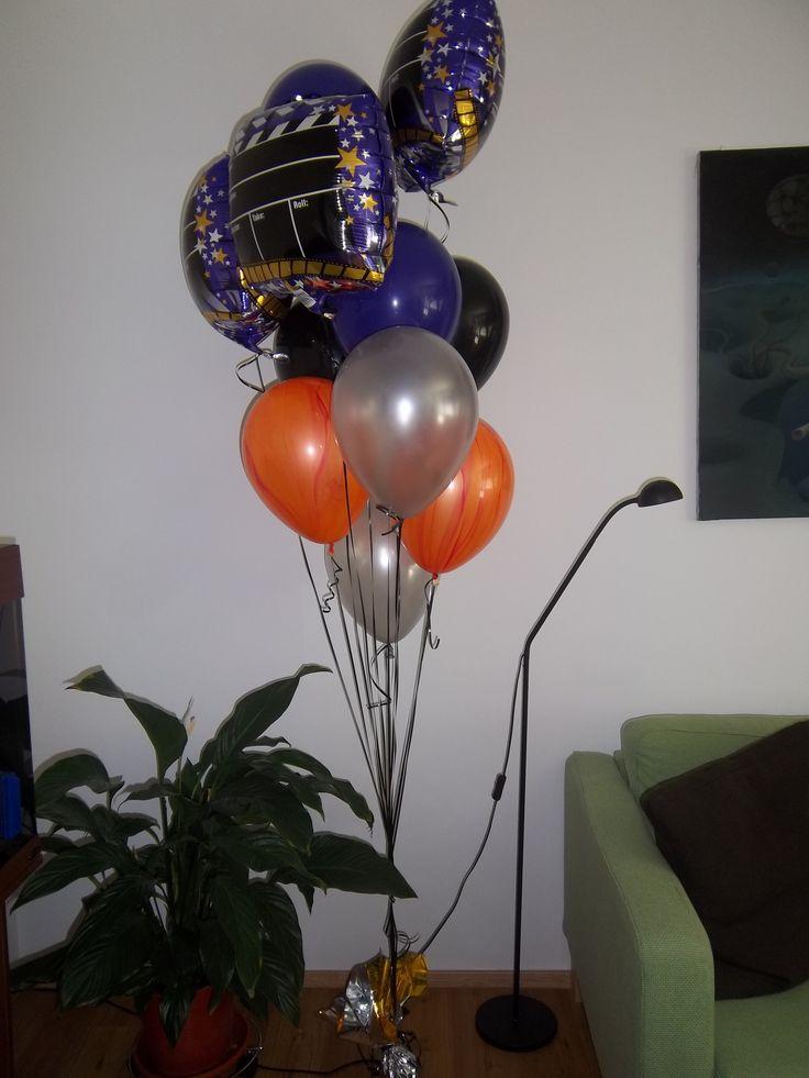 Balónová kytica - filmárska