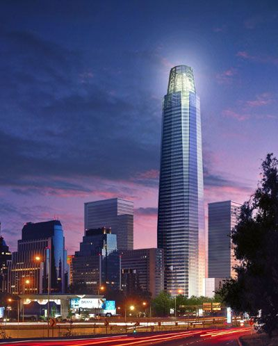 Costanera Center, Santiago, Chile.