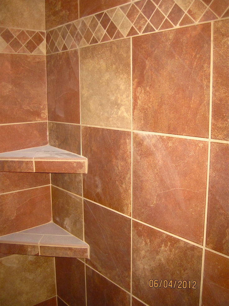 12x12 Stonepeak Lava Tile Set Straight With 2x2 Mosaic As