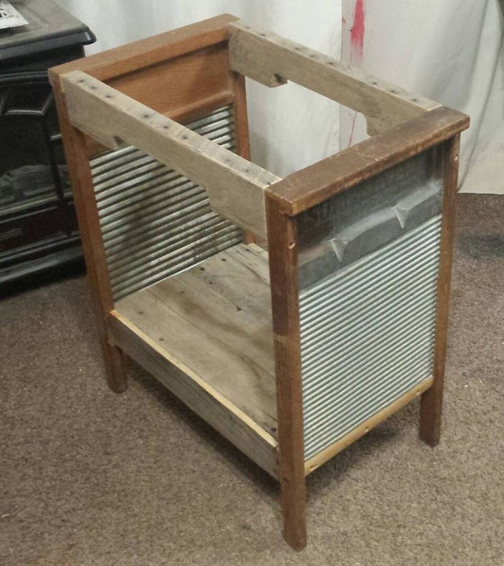Giving Old Washboards a New Purpose                                                                                                                                                      More
