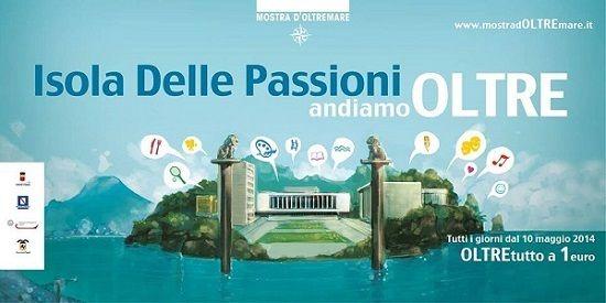 Rombo di tuono per la grande inaugurazione dell'isola delle passioni alla Mostra d'Oltremare a Napoli. Un atollo del divertimento anche per gli appassionati di food