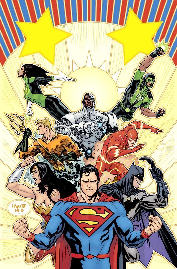 1st Print Justice League # 1 DC Universe Rebirth