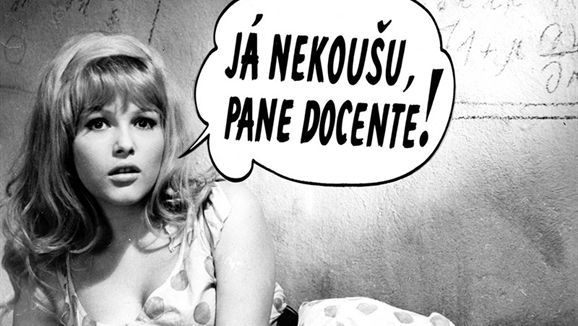 「Kdo chce zabít Jessii」   監督:ヴァーツラフ・ヴォルリーチェク(Václav Vorlíček)、1966年 #Roboraion #czech #art #culture #movie #film #comedy #sci-fi