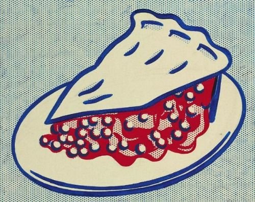 Roy Lichtenstein . cherry pie, 1962