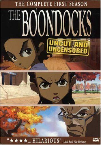 """The Boondocks: The complete first season"" PN1992.77 .B66 2006"