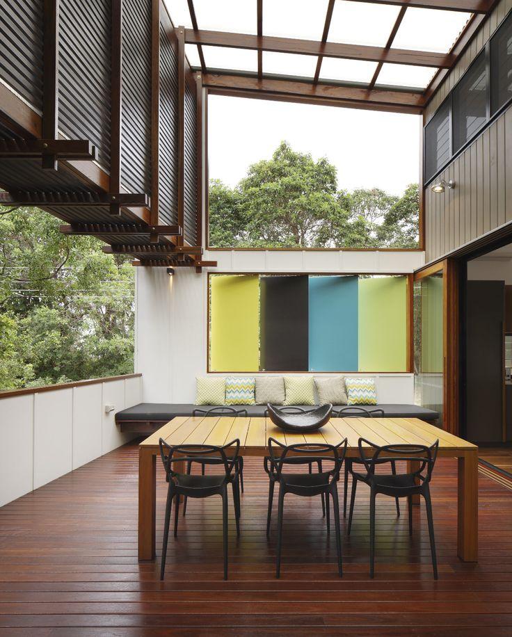 Mooloomba House, Point Lookout, Australia by Shaun Lockyer Architects