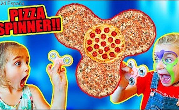 FIDGET SPINNER PIZZA