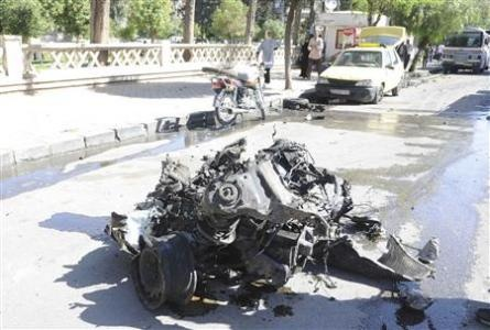 Syrian prime minister survives Damascus bombing, six die.(April 29th 2013)