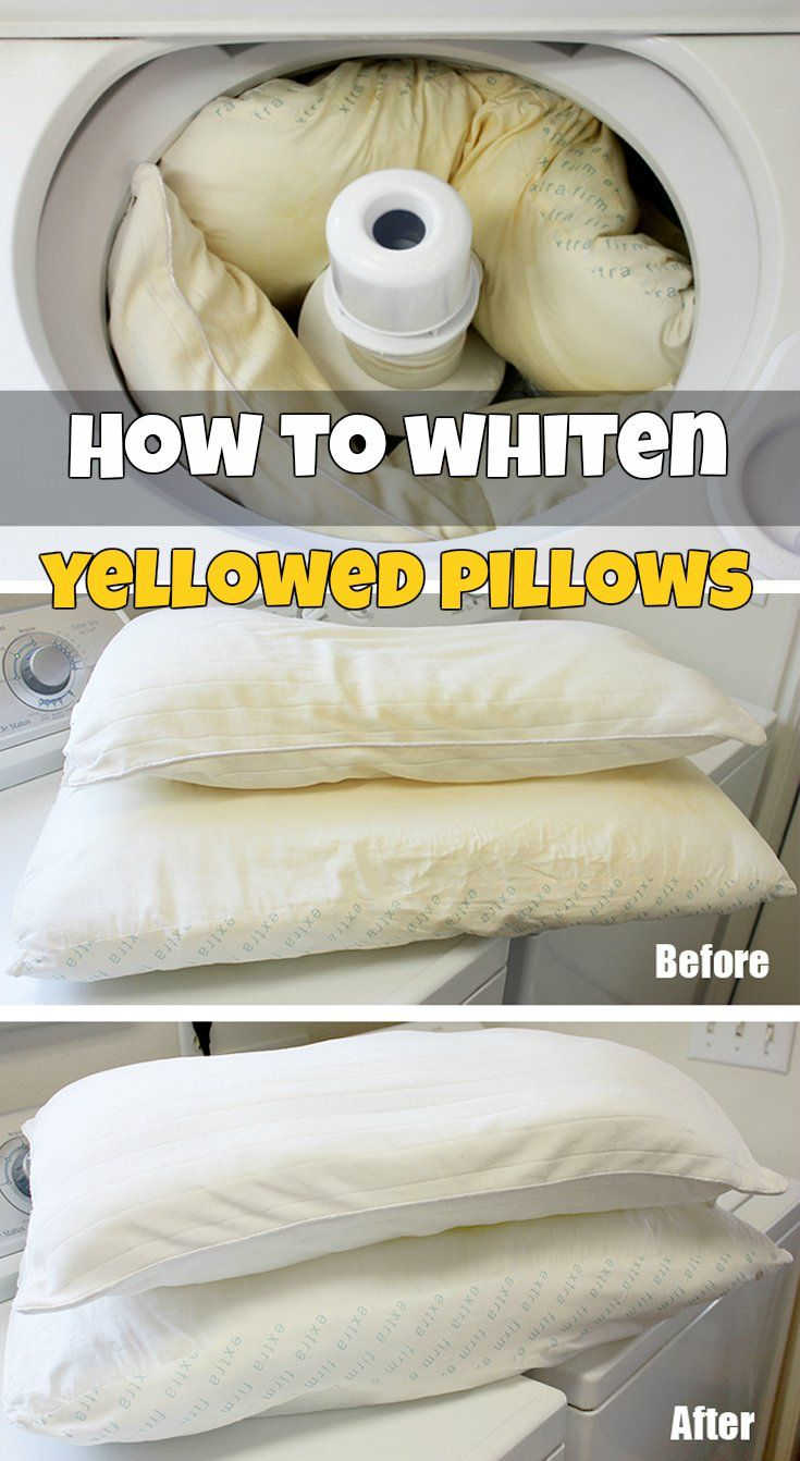 Design Washing Pillows best 25 clean yellow pillows ideas on pinterest wash how to whiten yellowed pillows
