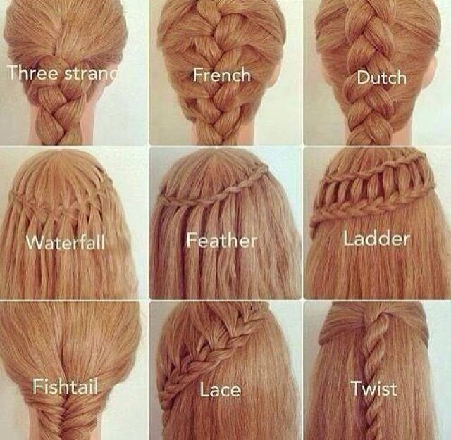 Very good example of the different braids. Will come in handy if I every try to explain a hair style to someone again :3