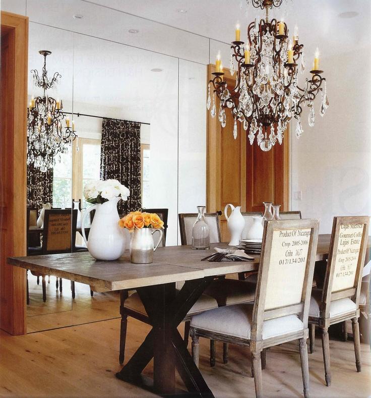 Desire to Decorate: Barn Board Tables