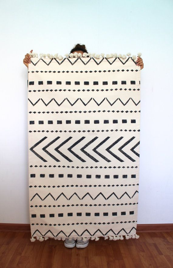 Scandinavian rugtribe pattern rug nordic style by COLASHOME