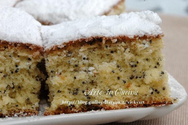 Torta al limone con farina di riso senza glutine | Arte in Cucina