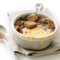 Rachel Ray 5 ingredient French Onion Soup.