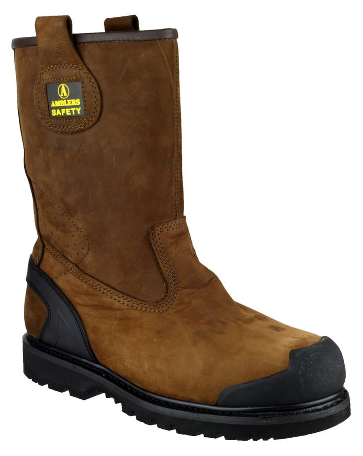 AMBLERS SAFETY - FS223C SAFETY RIGGER BOOT - MENS - BROWN • Amblers Safety FS223C Safety Rigger Boot • Includes composite toe cap and midsole protection • Pull-on loops for ease of wear and removal • Comfortable rubber/phylon outsole • Upper & sole are stitched with a long-lasting goodyear welt  Amblers Safety FS223C Safety Rigger Boot. Includes composite toe cap and midsole protection. Pull-on loops for ease of wear and removal. Comfortable rubber/phylon outsole. Upper & sole are stitched…