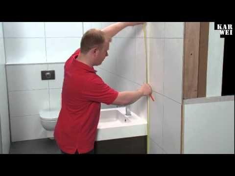 Hoe kun je zelf een badkamermeubel plaatsen? - Instructies - Weethetsnel.nl