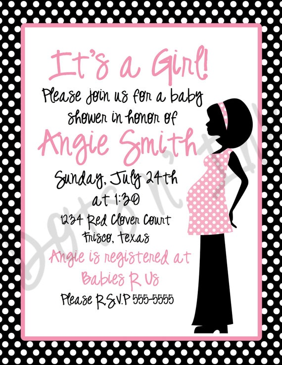 Another girl baby shower
