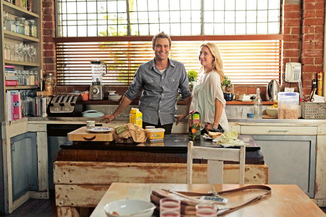 Take a look through this converted Melbourne warehouse, home to Offspring's beloved Nina and Patrick.    Who...