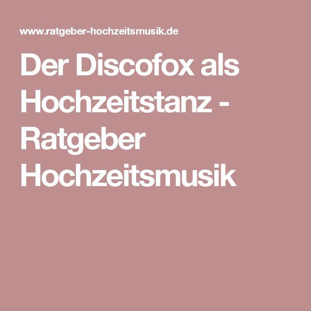 Der Discofox als Hochzeitstanz - Ratgeber Hochzeitsmusik