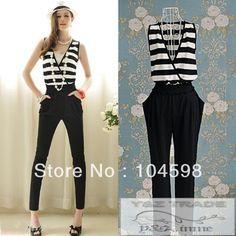 ... el tamaño de mamelucos largo pantalones para mujer fh-10912 monos