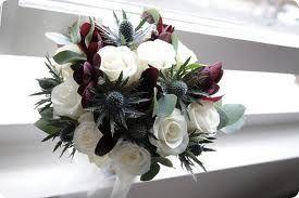 Pretty scottish bouquet