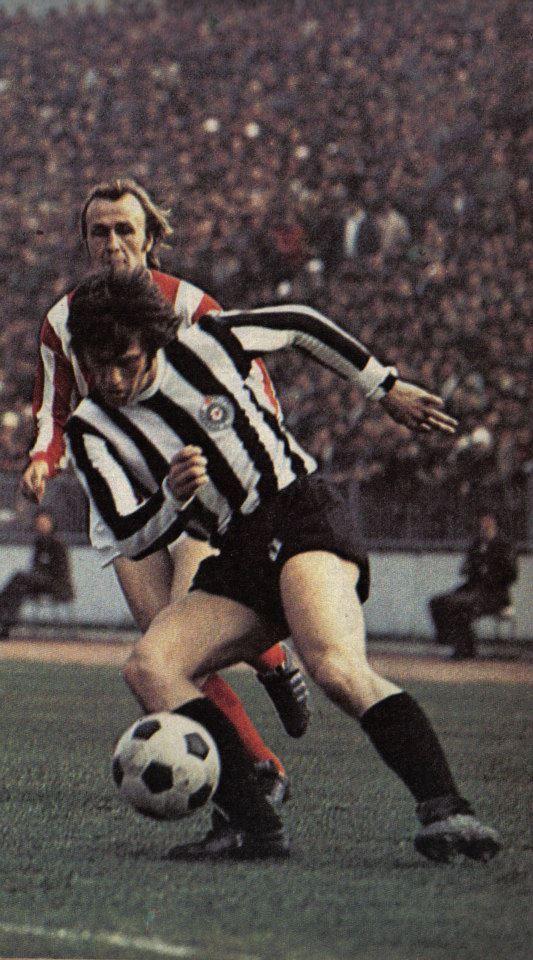 Bora Đorđević, 54. eternal derby (FK Partizan - cz 2:1) 17-03-1974