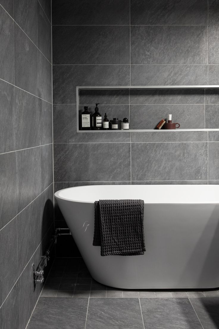 Götgatan Södermalm bathroom bath grey white soap Fantastic Frank