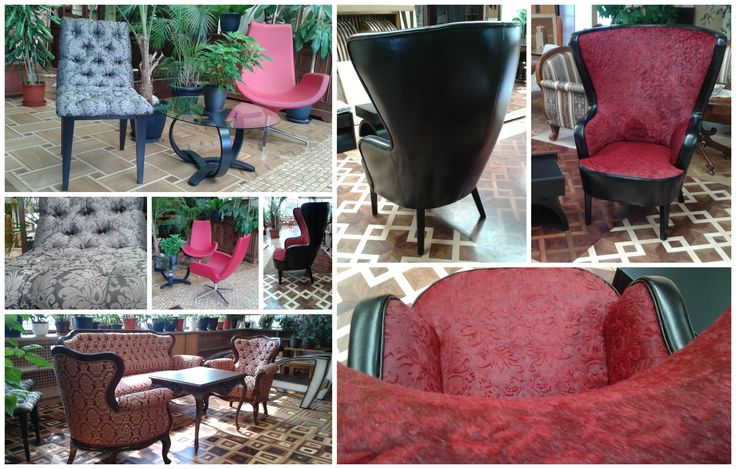 New armchairs are in any style...