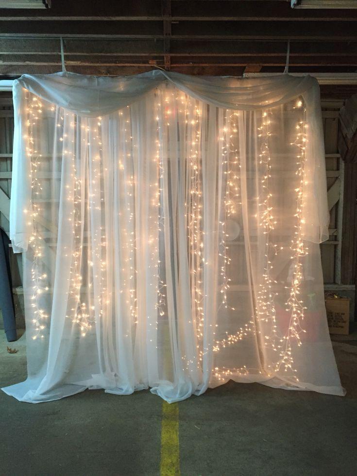 Wedding Backdrop for Barn Wedding
