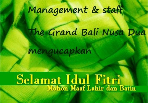 Selamat Hari Raya Idhul Fitri 1435 H to all of our partners, friends and those, who celebrates it.
