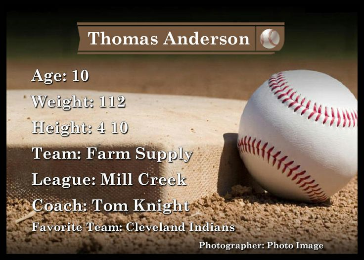 Trader cards just like the pros. Personalize them to your information. Available in all sports and colors.  tpiphoto.com