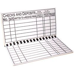 The Giant Print Check Register - click to view larger image