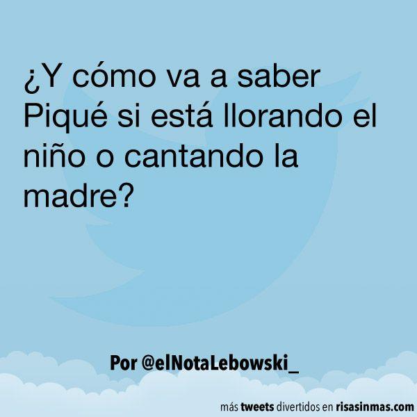 Llora el niño o canta la madre. #humor #risa #graciosas #chistosas #divertidas