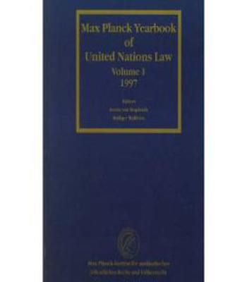 Max Planck Yearbook Of United Nations Law PDF