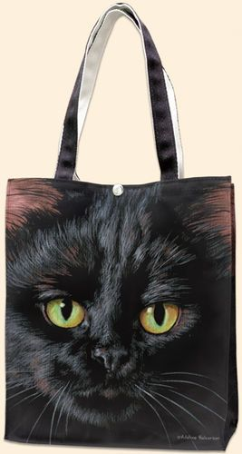 Black cat tote.
