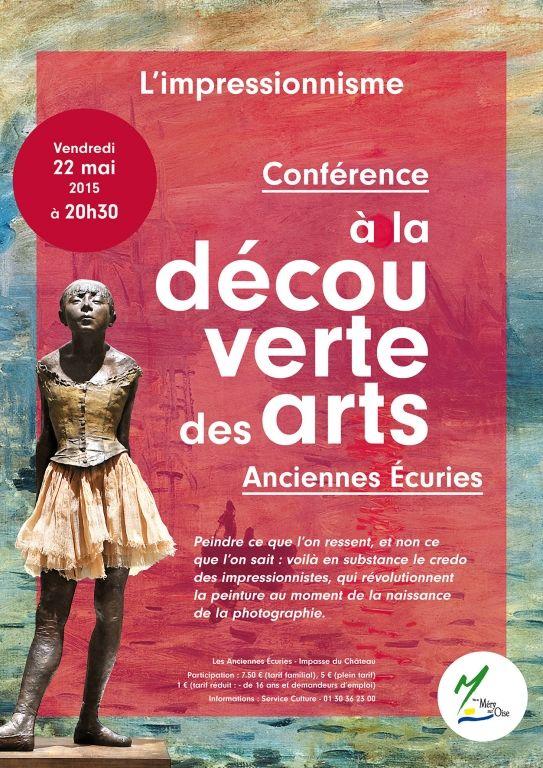 L'impressionnisme, conférence à la découverte des arts, Méry-sur-Oise (95540), Ile-de-France