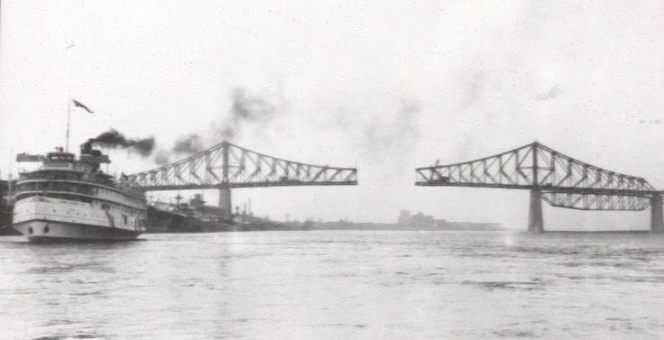 Pont Champlain Construction