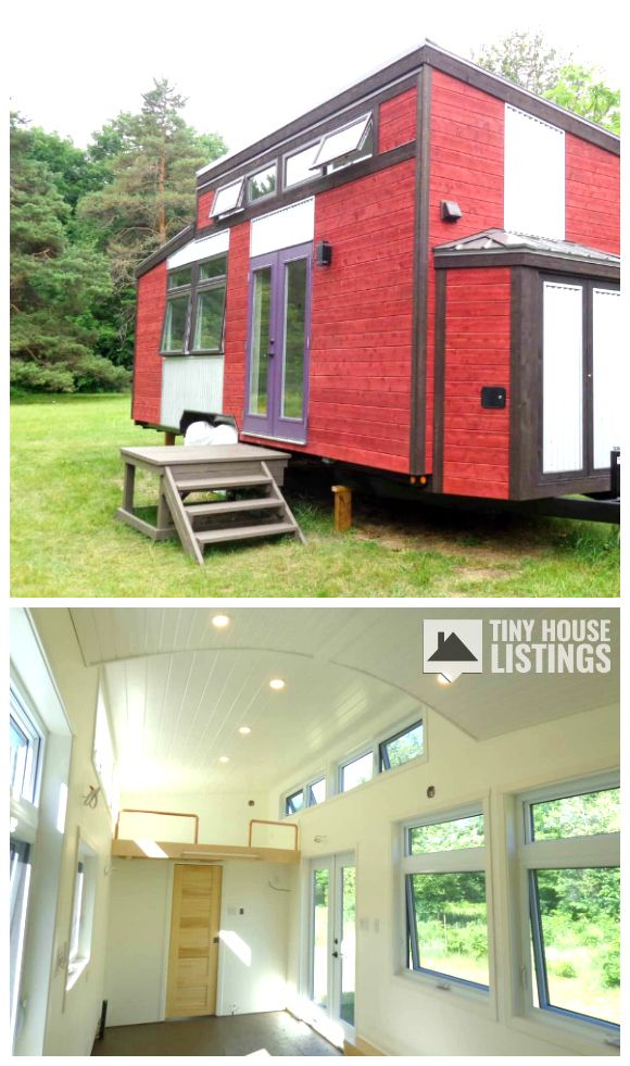 Four Season Canadiana Tiny House For Sale In Montreal Quebec Tiny House Listings Tiny Houses For Sale Tiny House Listings Tiny House Design