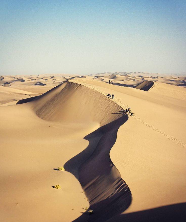 Varzaneh Desert, Isfahan Province, Iran (Persian: کویر ورزنه - اصفهان) Photo by: M. Banki