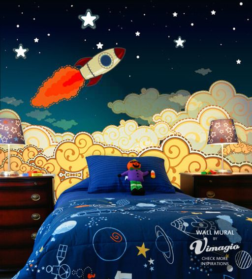http://vimagio.pl/pl/inspiracje/rocket-in-space-to-boy's-room/73/8