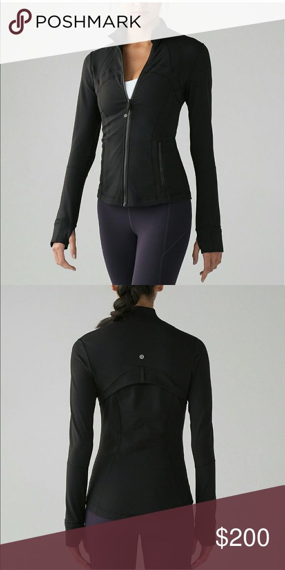 Lululemon define black 4 READ⬇️ Would like a size six so willing to trade... or possibly sell. Message me with comments or questions lululemon athletica Tops Sweatshirts & Hoodies