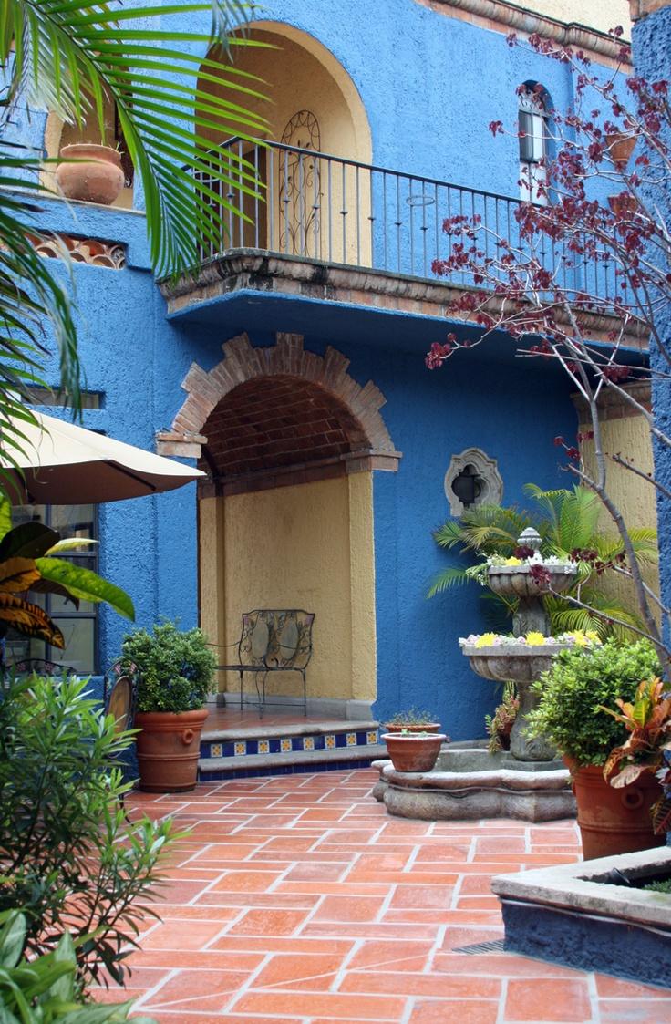 685 best images about jardines mexicanos on pinterest for Imagenes de casas coloniales
