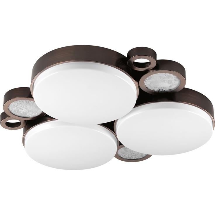 Visit The Home Depot To Buy Progress Lighting Bingo Collection Venetian Bronze Flushmount