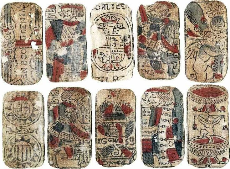 Pin by n w on tarot in 2020 spanish playing cards