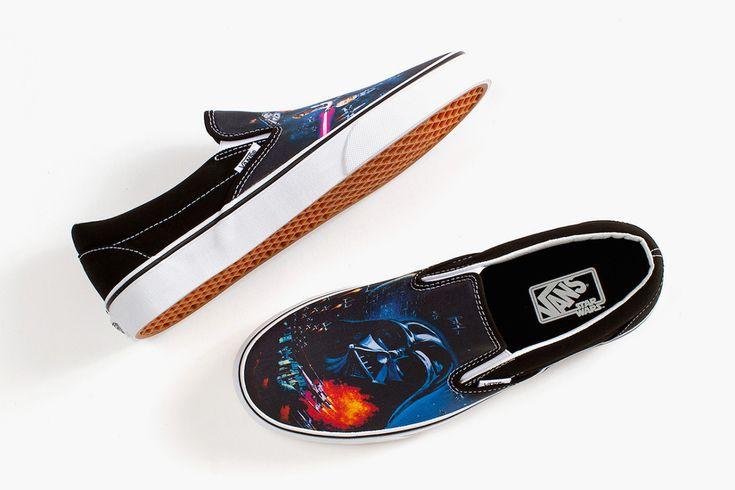 Vans выпустили линейку обуви по мотивам Звездных Войн - be-in.ru