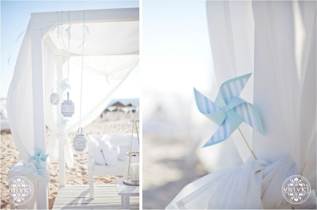 Our Lovely Pink World | Wedding beach | mint