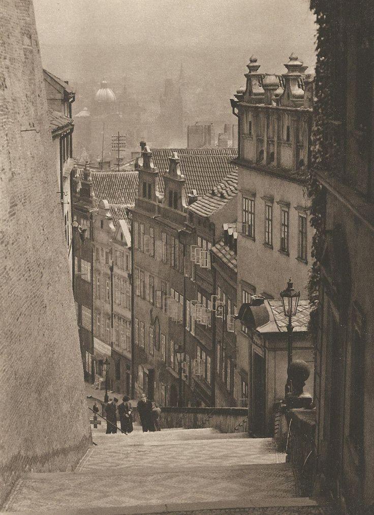 Jiří Jeníček, Prague Castle Stairs, late 40's