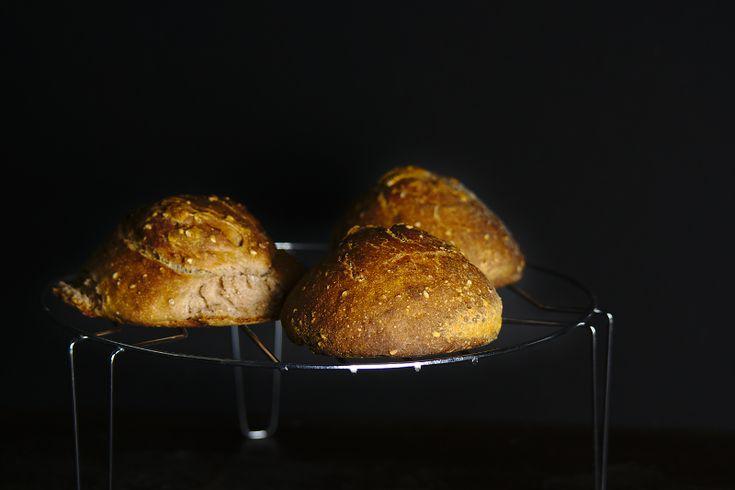 Pan de harina de castañas #glutenfre