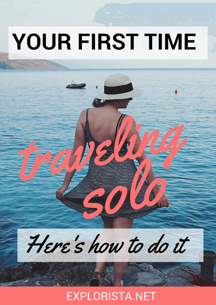 So you want to travel solo, but you're scared to give it a try? I understand! That's exactly why I wrote this post. Re-pin and click through for my best advice for your first solo trip!